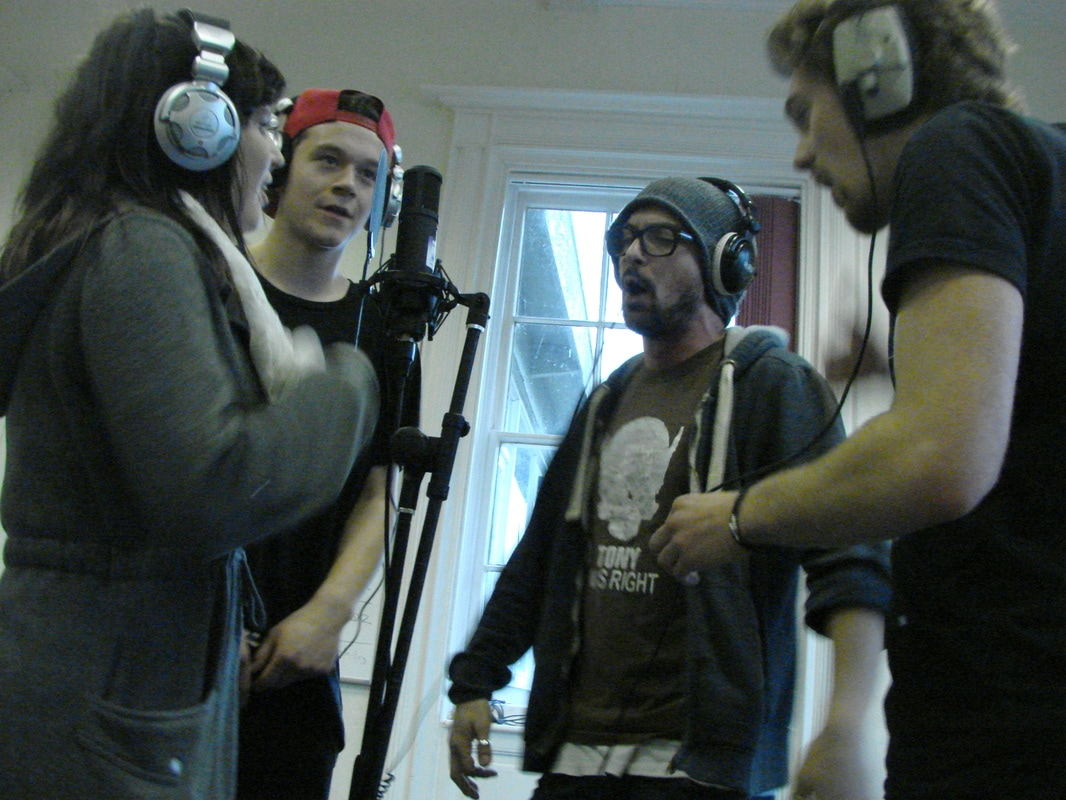 Livewire Central Rappers Recording